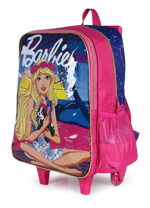 Mochilete Luxcel Barbie Azul