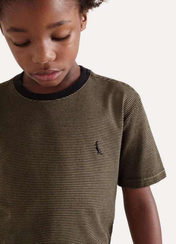 Camiseta Mini Pf Onda Verde