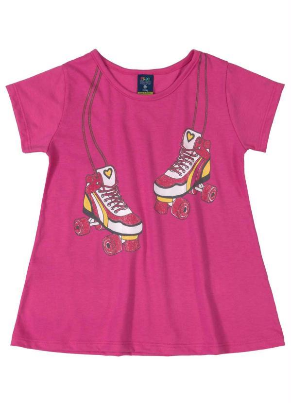 Conjunto Infantil Menina Rosa Escuro