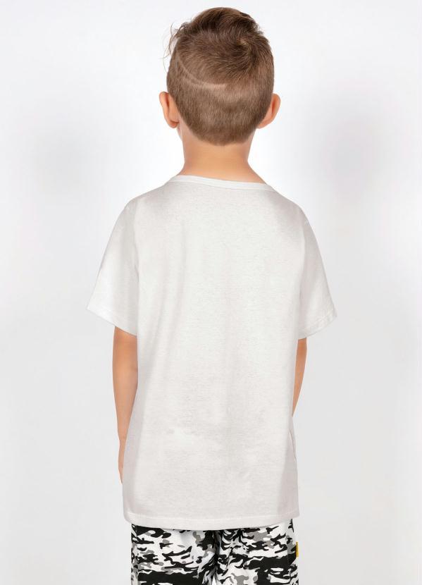 Camiseta Jogo dos Carrinhos Branca